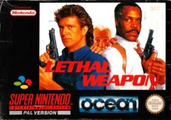 Lethal weapon videogame